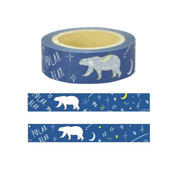 Animal Series マスキングテープ<シロクマ>