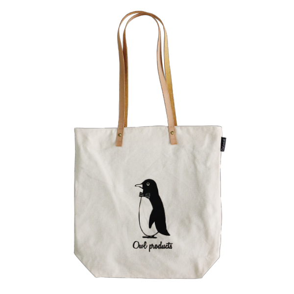 Owl products トートバッグ<penguin>
