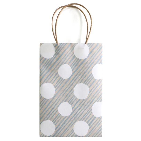 chobit wit ミニ紙袋Sサイズ<dot&stripe>