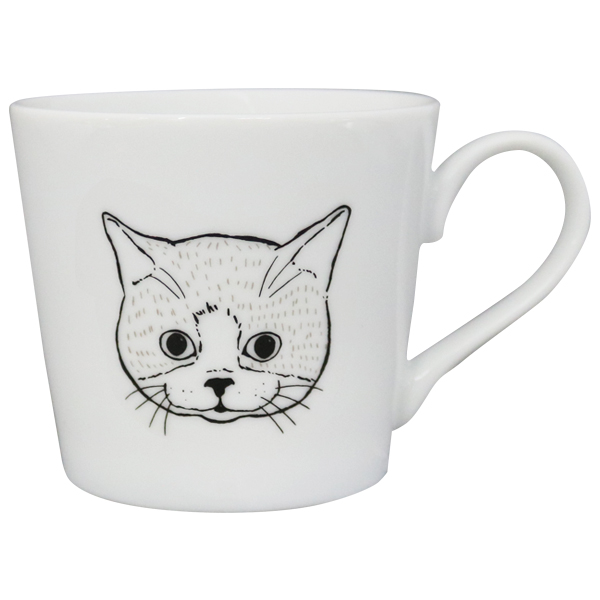 マグカップ<cat_white>