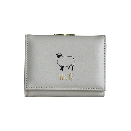 Animal Series 三つ折り財布<ヒツジ>