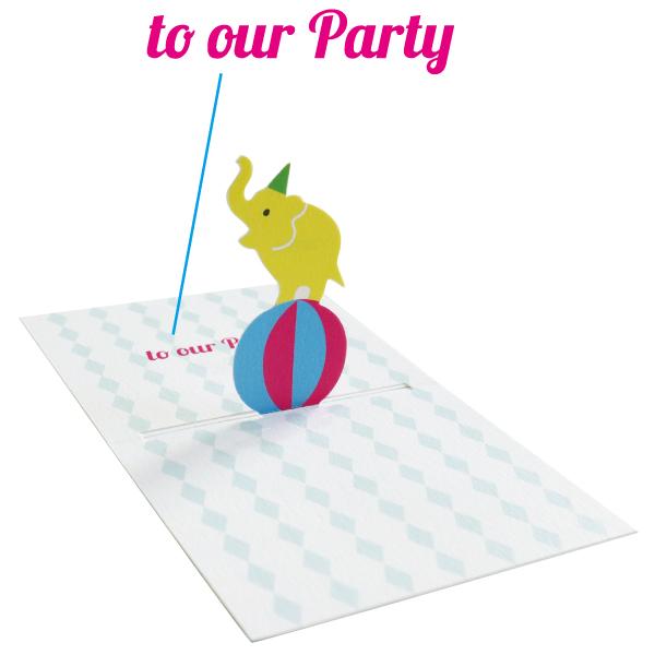 POP UP Minicard<Invitation> PCG-012