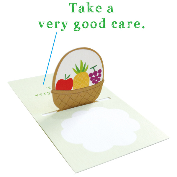 POP UP Minicard <Get well soon> PCG-013
