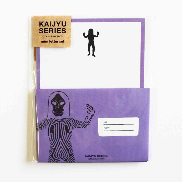 KAIJYU SERIES ミニレターセット<ダダ/ネガ>TB-229