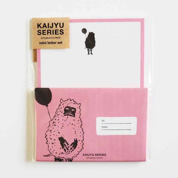 KAIJYU SERIES ミニレターセット<ピグモン/ネガ>TB-231