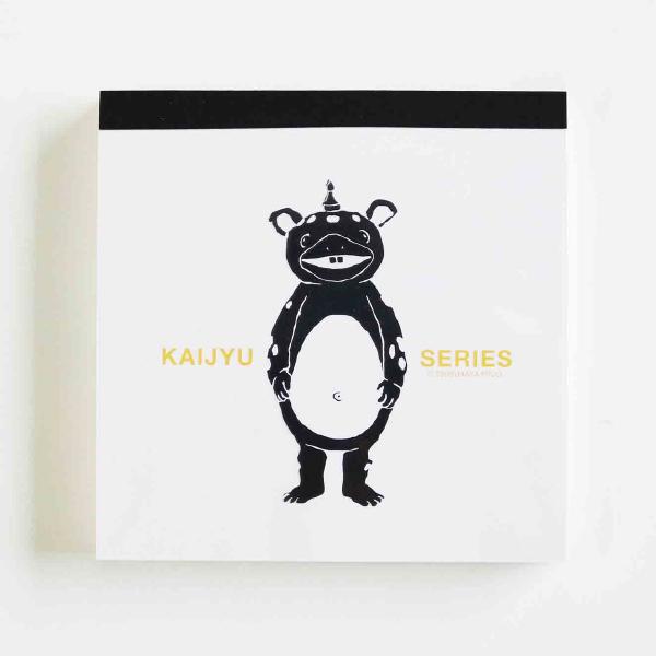 KAIJYU SERIES メモパッド・スクエア<快獣ブースカ/ネガ>TB-240