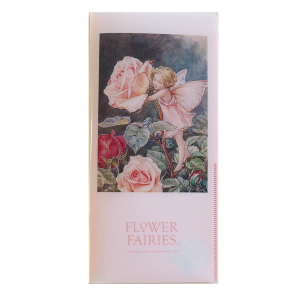 FLOWER FAIRIES チケットホルダー<Rose>FF-110