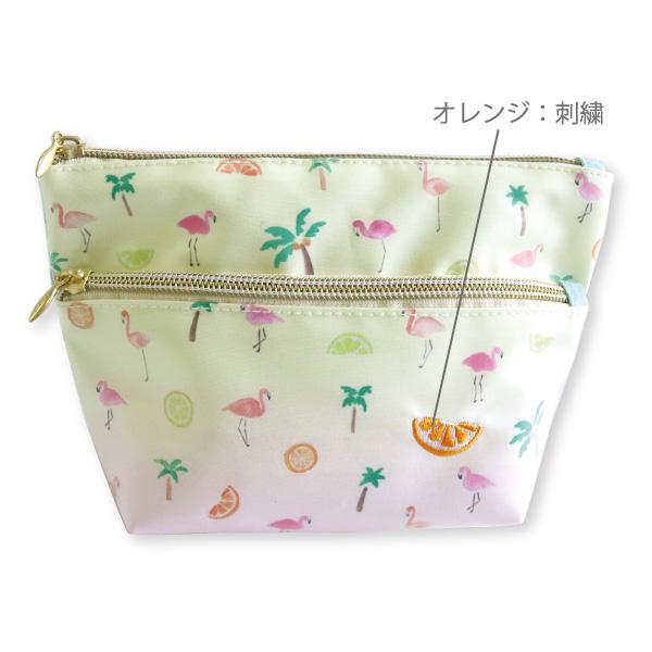 chobit wit 舟形ポーチ<flamingo>CW-175