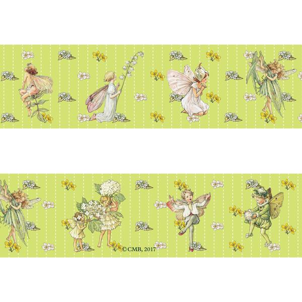 FLOWER FAIRIES マスキングテープ<White Bindweed>FF-118