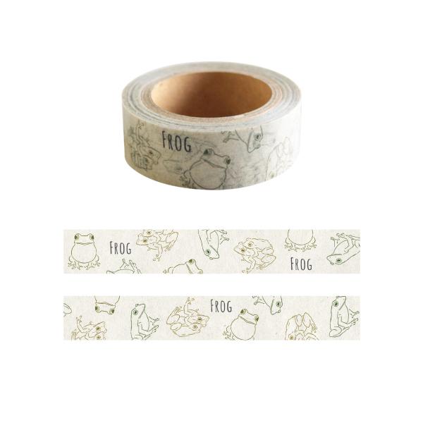Animal Series マスキングテープ<カエル> GF-406