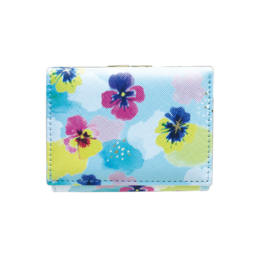 Painter Series 三つ折り財布<pansy>PE-007