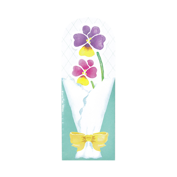 BloomRoom グリーティングカード<sumire>BR-007