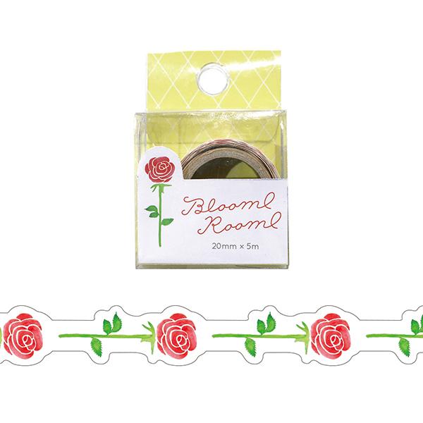 BloomRoom ダイカットマスキングテープ<bara>BR-015
