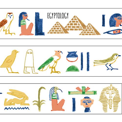 STUDY HOLIC マスキングテープ<古代エジプト>ST-035