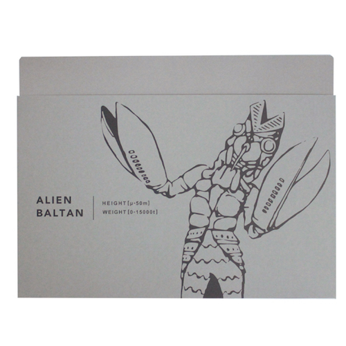 KAIJYU SERIES ドキュメントホルダー<バルタン星人>TB-261