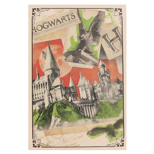 Harry Potter Collection ポストカード<Hogwarts>HP-030