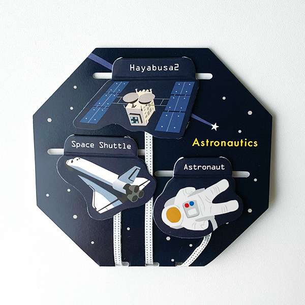 STUDY HOLIC マグネットブックマーカー<宇宙航行学>ST-069