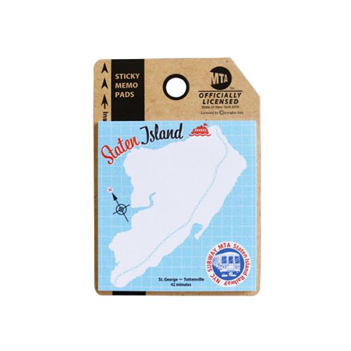 MTA スティッキーメモ<staten island>MA-037