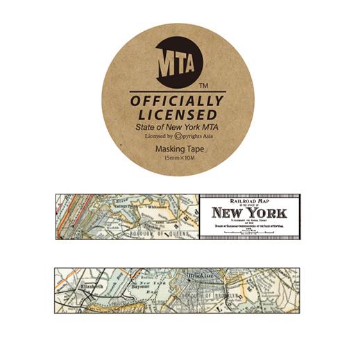 MTA マスキングテープ<vintage map>MA-042