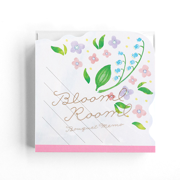 BloomRoom ブーケメモパッド<suzuran>BR-031