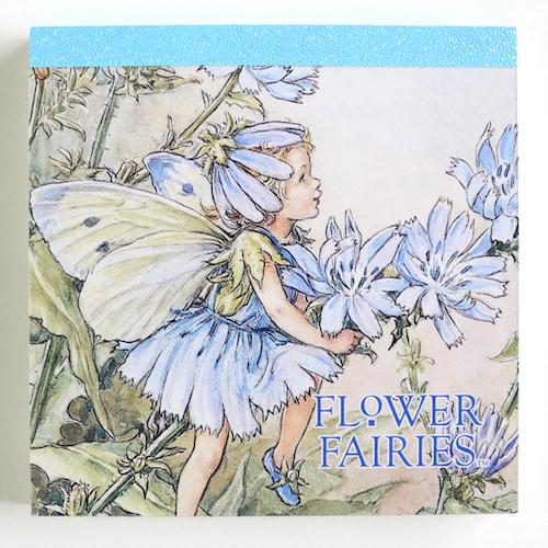 FLOWER FAIRIES メモパッド・スクエア<The Chicory Fairy>FF-137