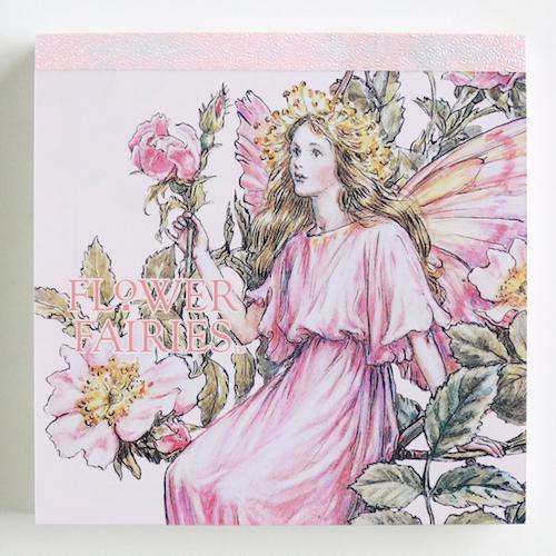 FLOWER FAIRIES メモパッド・スクエア<The Wild Rose Fairy>FF-138