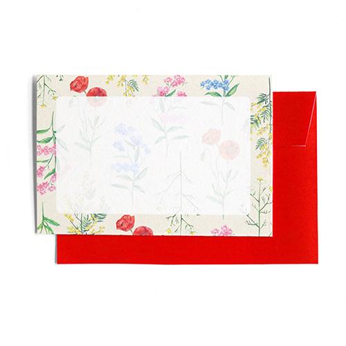 hacoto 箱入りミニカードセット<botanical>HT-003
