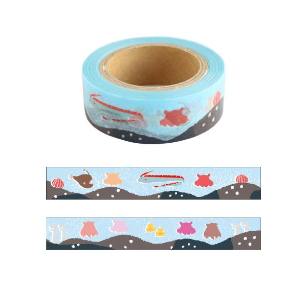 Animal Series マスキングテープ<メンダコ> GF-455