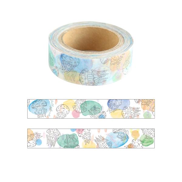 Animal Series マスキングテープ<クラゲ> GF-456