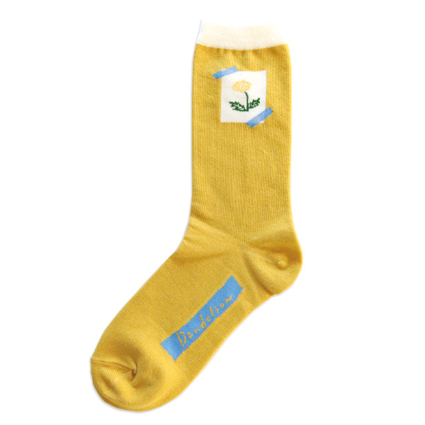 garapago socks 靴下<Dandelion>GP-010