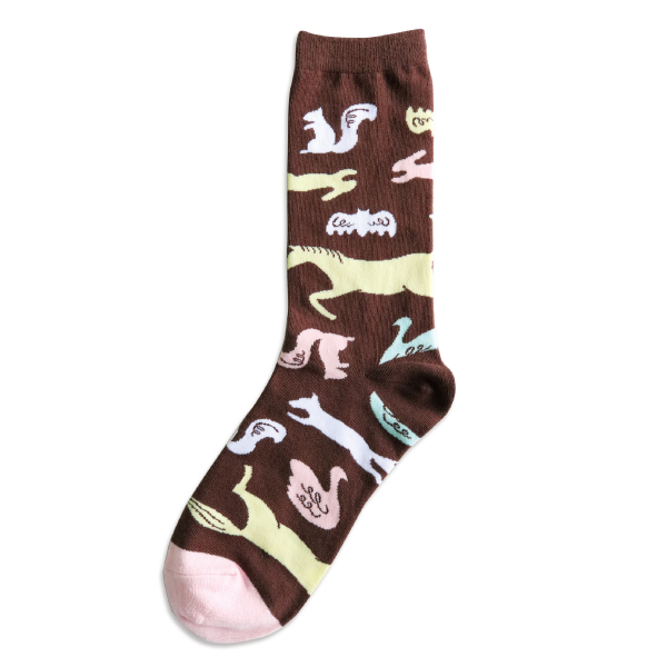 garapago socks 靴下<Animal>GP-011