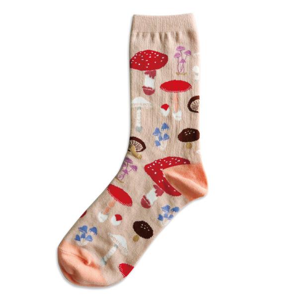 garapago socks 靴下<菌類学>ST-097