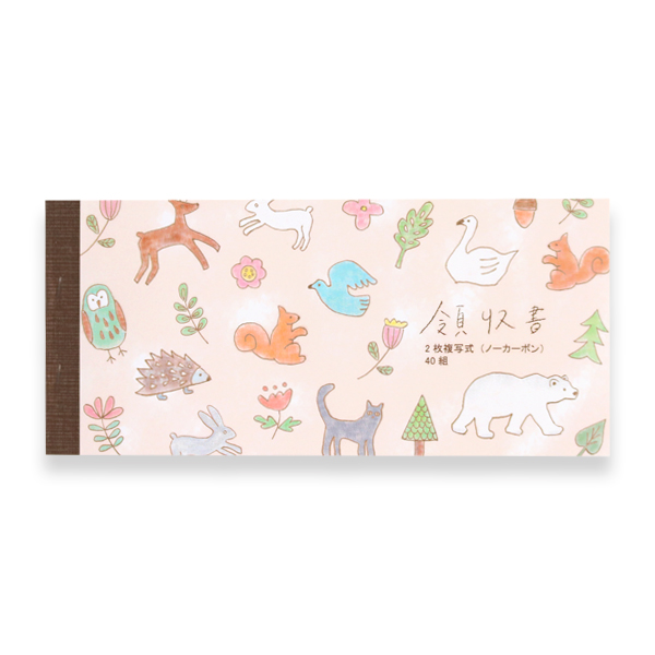 領収書<Animal>GRD-021