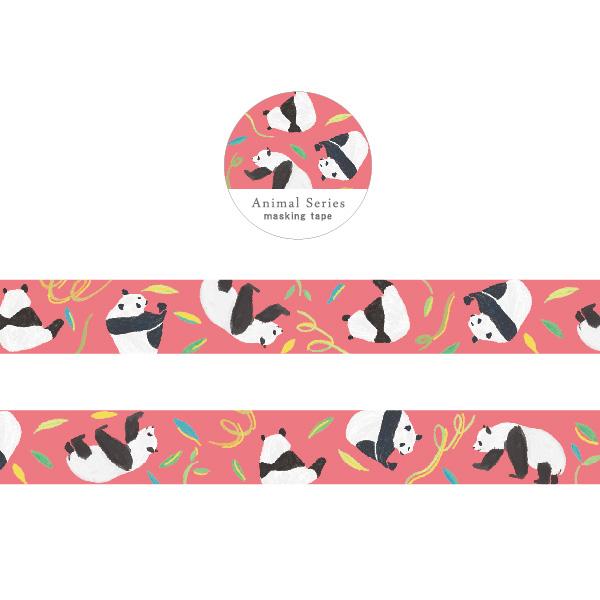 Animal Series 金箔マスキングテープ<パンダ> GF-470