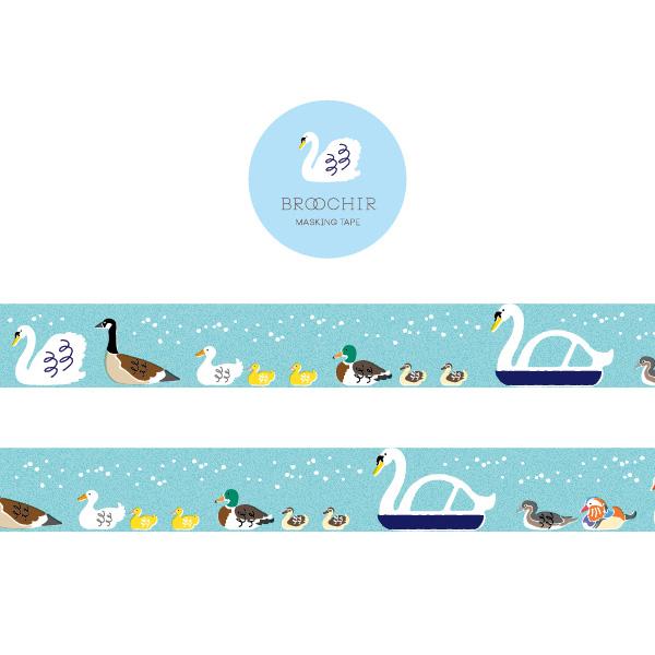 BROOCHIR マスキングテープ<mizudori>BC-016