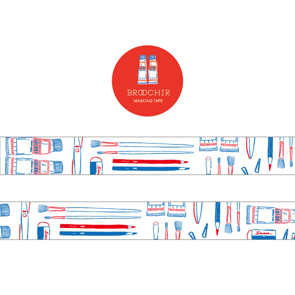 BROOCHIR マスキングテープ<stationery>BC-018