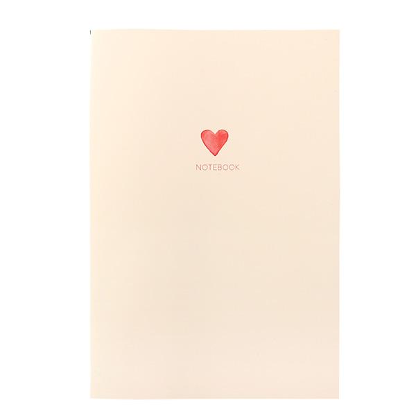 BROOCHIR A5ノート<heart>BC-020