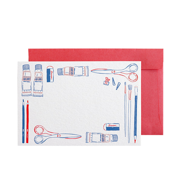 BROOCHIR ミニカードセット<stationery>BC-036