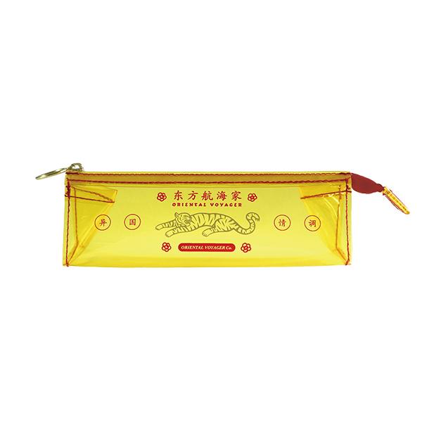 ORIENTAL VOYAGER PVC三角ペンポーチ<虎>OV-029
