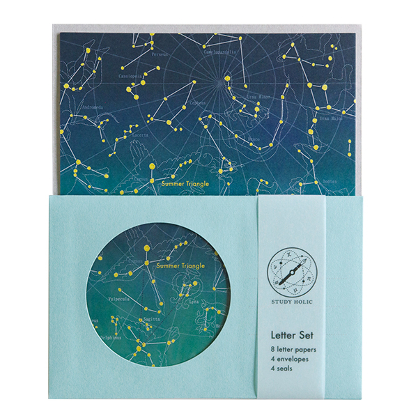 STUDY HOLIC レターセット<天文学>ST-132