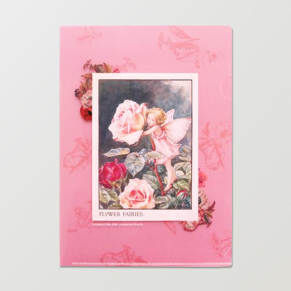 FLOWER FAIRIES A5ファイル<Rose>FF-144