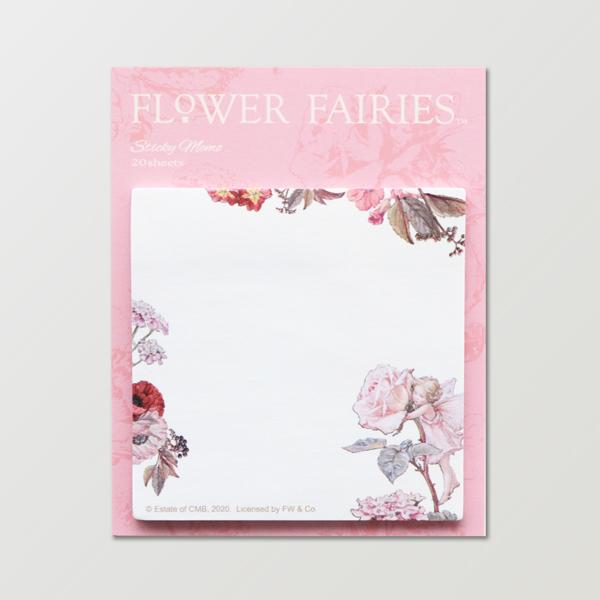 FLOWER FAIRIES スクエア付箋 <Rose>FF-148