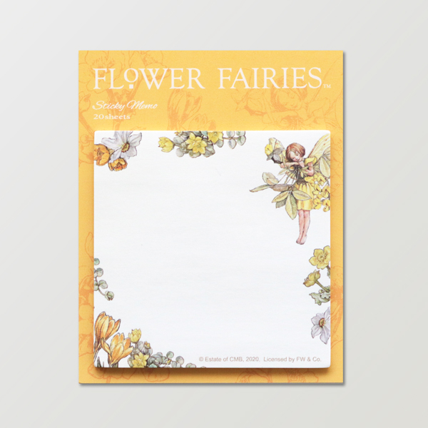 FLOWER FAIRIES スクエア付箋 <Laburnum>FF-150