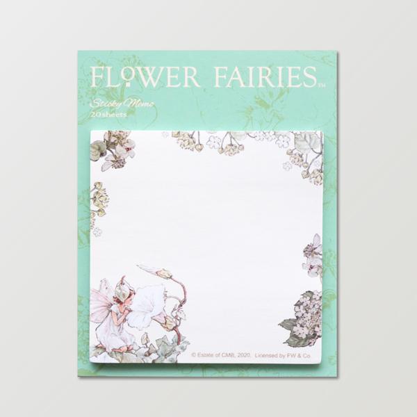 FLOWER FAIRIES スクエア付箋 <White Bindweed>FF-151