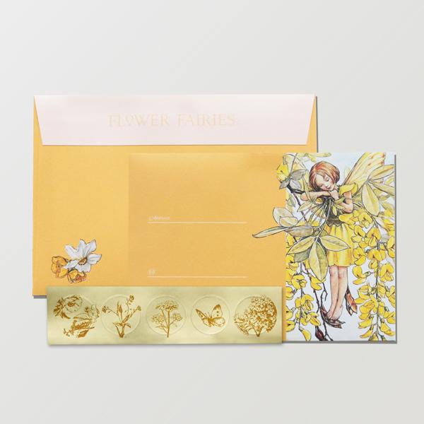 FLOWER FAIRIES 封筒 <Laburnum>FF-154