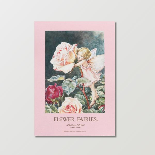 FLOWER FAIRIES レターパッド <Rose>FF-156