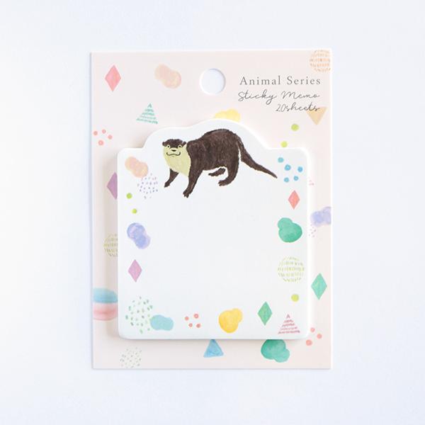 Animal Series スティッキーメモ<カワウソ> GF-491