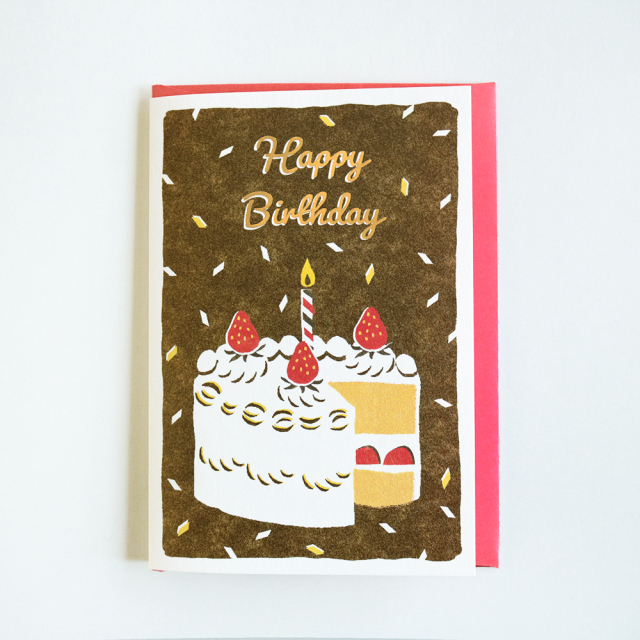 Birthday Card<big cake>GRD-031