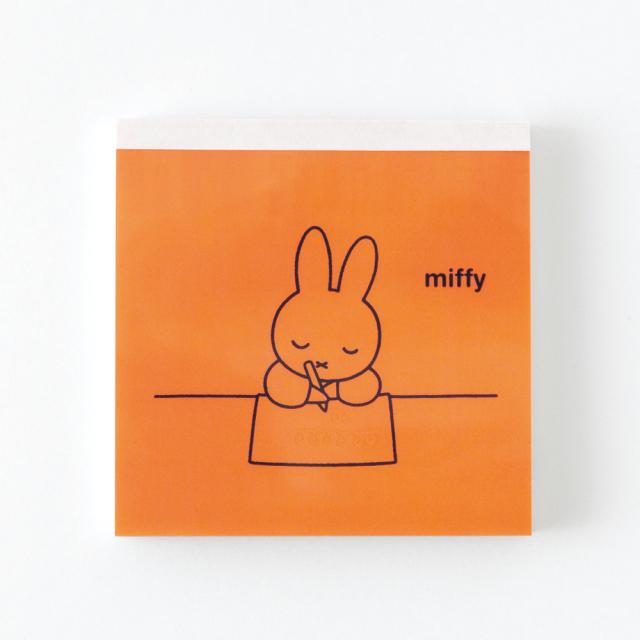 miffy メモパッド・スクエア<letter> BM-001