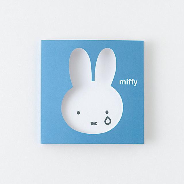 miffy スティッキーメモ<face/blue> BM-007